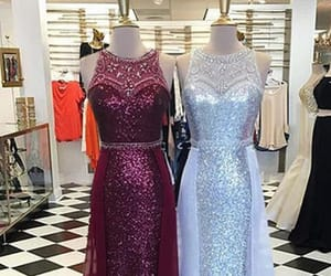 burgundy prom dress, prom dress 2018, and prom dress cheap image