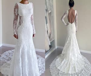 lace wedding dresses, custom made party dresses, and wedding dresses sexy image