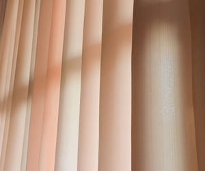 curtain, orange color, and sunlight image
