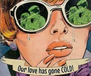 comic, retro, and romance image