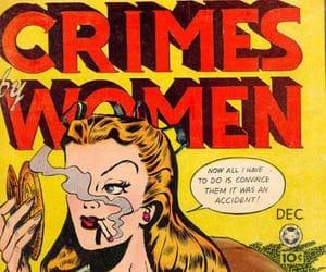 crime, retro, and vintage image