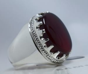 men ring, 925 sterling silver, and multistone rings image
