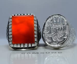 christmas, jewelry, and islamic rings image