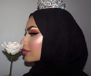 arab, hijab, and hijâbi image
