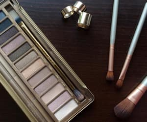 makeup, maquillage, and palette image