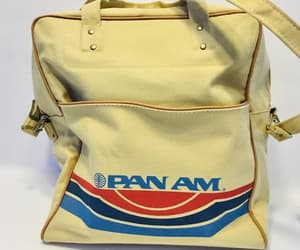 etsy, overnight bag, and pan american image