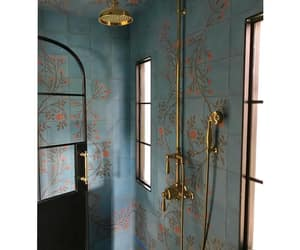 Bleu, home, and house image