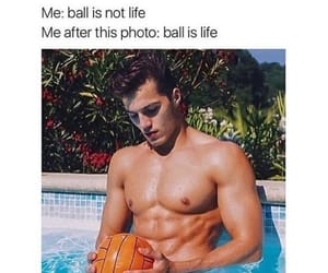 athletic, ball, and boy image