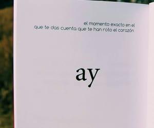libros, corazón roto, and frases en español image