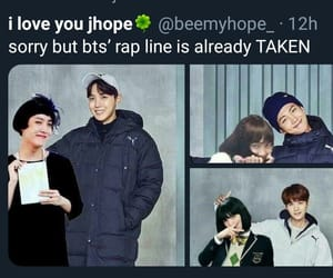 meme, bts, and bangtan boys image