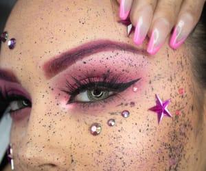 artist, creative, and eyelashes image