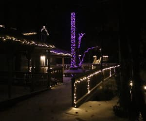 cabins, lights, and obstacle image
