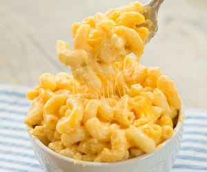 breakfast, pasta, and cheese image