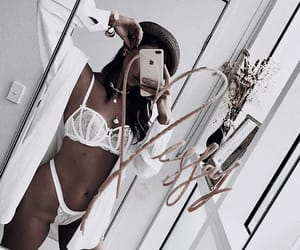 intimate, mirror, and lingerie image