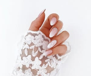 jewelry, lace, and nails image