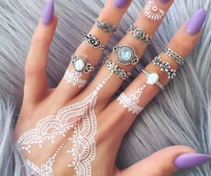 jewelry, nails, and Tattoos image