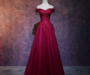 evening dress, evening dresses 2019, and long dress image