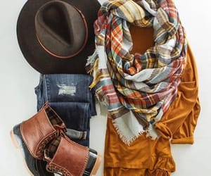 boots, casual, and fall image