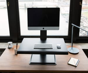 humanscale, height adjustable desks, and height adjustable table image
