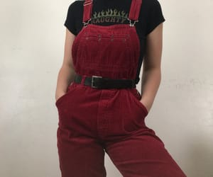 corduroy, outfit, and romper image