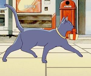 anime, 猫の恩返し, and art image