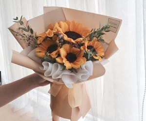bouquet, boyfriend, and flowers image