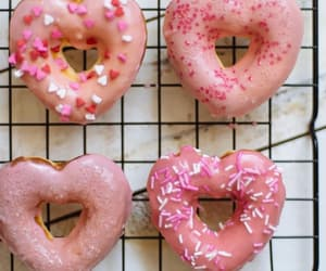 baked, dessert, and donuts image