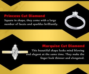 diamond engagement rings, fancy shape rings, and gia certified rings image