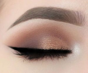 eyeshadow, makeup, and eyeliner image
