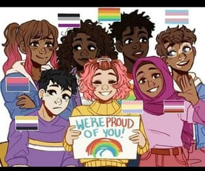 proud, lgbt, and love image