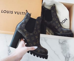 boot, fashion, and LV image