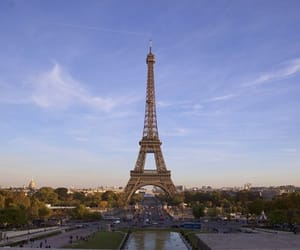 beautiful, eiffel, and paris image