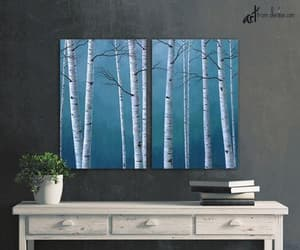 etsy, wall art over bed, and art above bed image