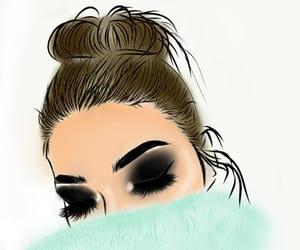 adobe, art, and hair image