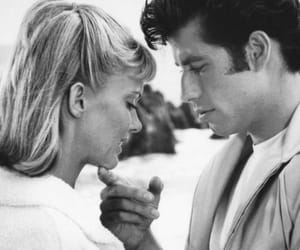 black and white, grease, and love image