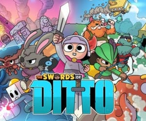 zelda, swords of ditto, and the swords of ditto image