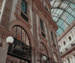 Versace, architecture, and aesthetic image