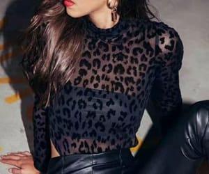 conjunto, leopardo, and moda image