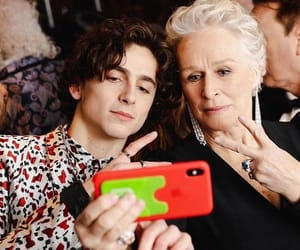 glenn close, cute, and timothee chalamet image