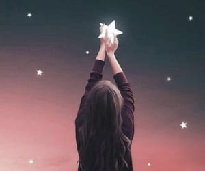 dp, girl, and star image