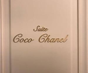 chanel, door, and luxury image