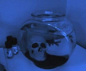 blue, bowl, and grunge image