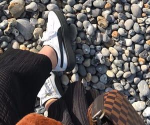 adidas, baskets, and beach image