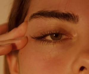 girl, aesthetic, and eye image