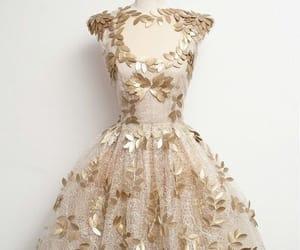 dress, vestido, and magic image