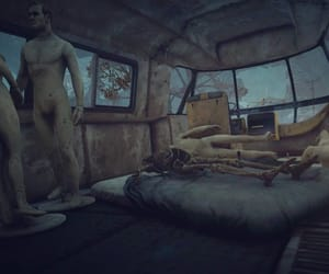 apocalypse, bed, and bus image