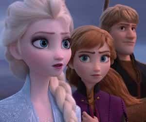 anna, magic, and snow image