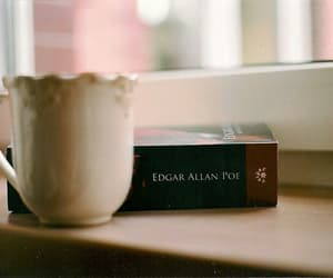 books, coffee, and poetry image