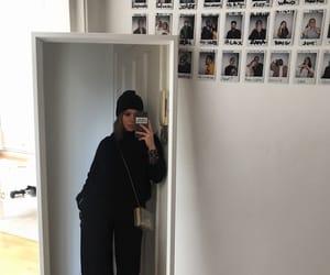 Balenciaga, style, and allblack image