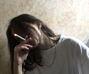 cigarette, grunge, and tumblr image